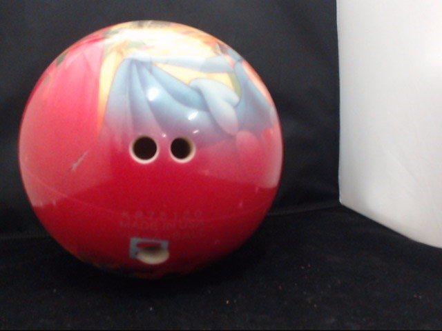 PIXAR Indoor Sports MONSTERS INC BOWLING BALL