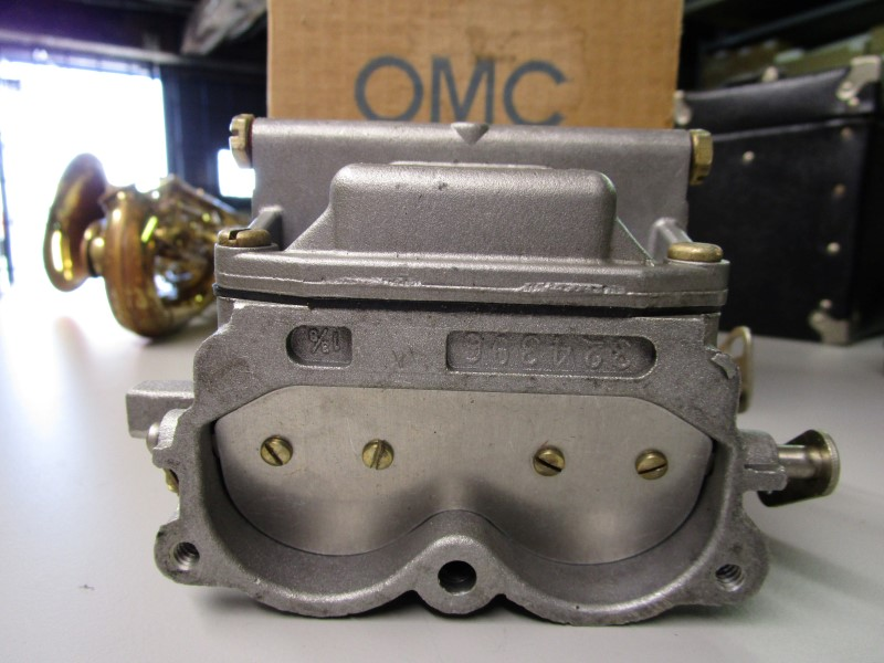 NEW OLD STOCK OMC CARBURETOR ASSEMBLY - LOWER, OMC PART NUMBER 391419, SHIPS IN