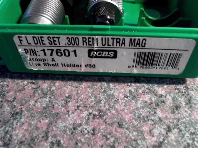 rcbs 17601 300 ultra mag die set