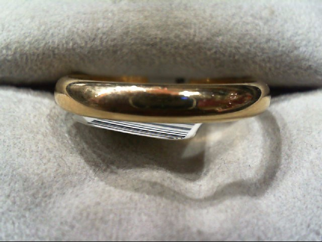 Gent's Gold Wedding Band 14K Yellow Gold 3.3g Size:11.5