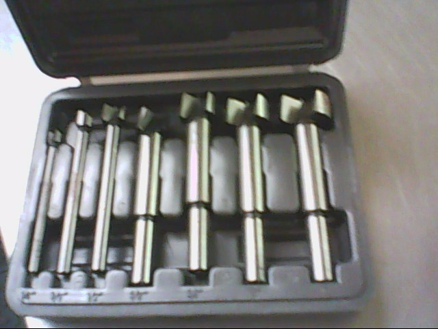 HANDYMAN Drill Bits/Blades 7 PC FORSTNER BIT SET