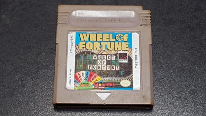 NINTENDO Vintage Game WHEEL OF FORTUNE