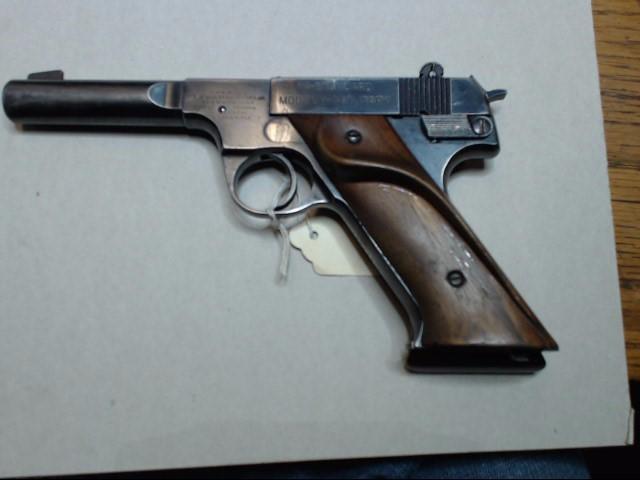 HIGH STANDARD Pistol H-D MILITARY(COMML GUN)WALNUT GRIPS