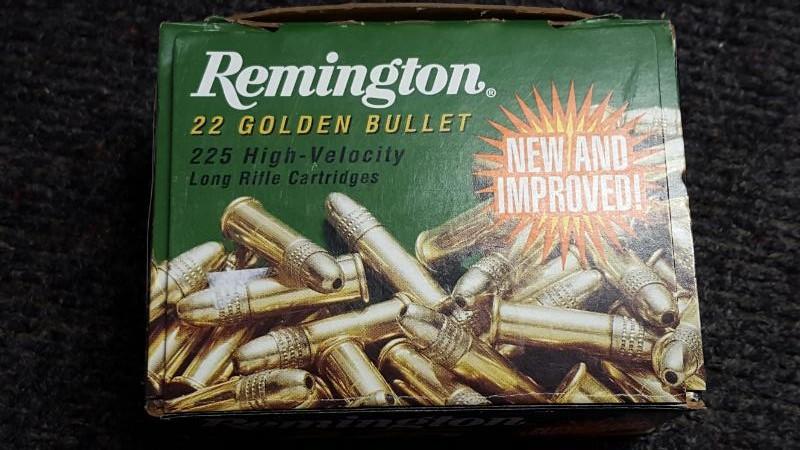 REMINGTON FIREARMS Ammunition 22 GOLDEN BULLET