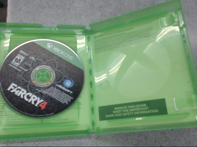 MICROSOFT Microsoft XBOX One Game FARCRY 4 LIMITED EDITION XBOX ONE