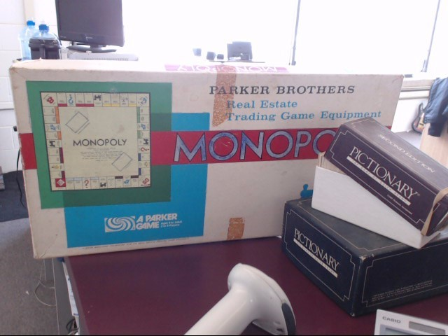 PARKER BROS Toy MONOPOLY