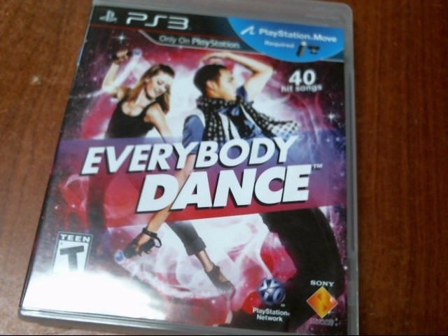 SONY PS3 EVERYBODY DANCE