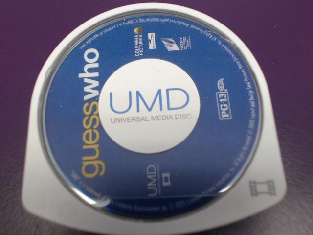 GUESS WHO UMD FOR SONY PSP