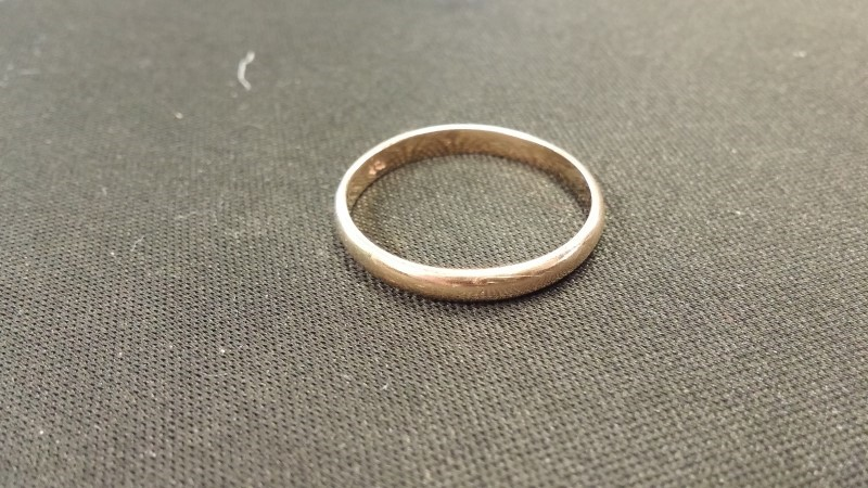 Gent's Gold Ring 10K Yellow Gold 1.4dwt Size:9.5