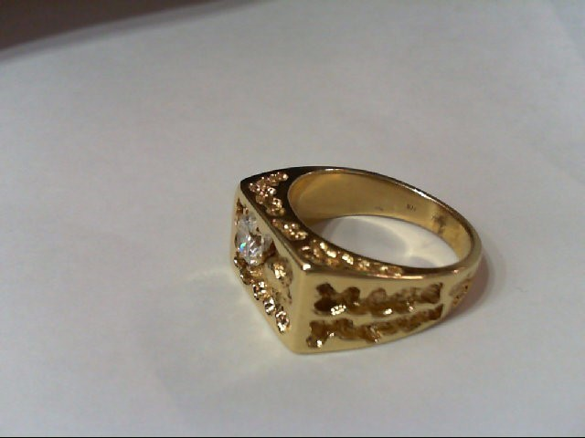 Gent's Diamond Fashion Ring 1.00 CT. 14K Yellow Gold 16.33g