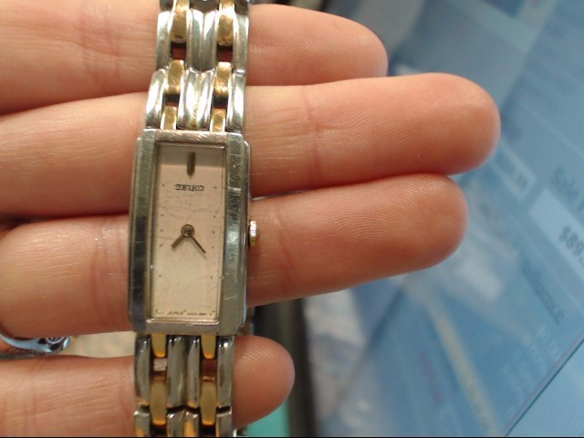SEIKO Lady's Wristwatch 4N00-7089
