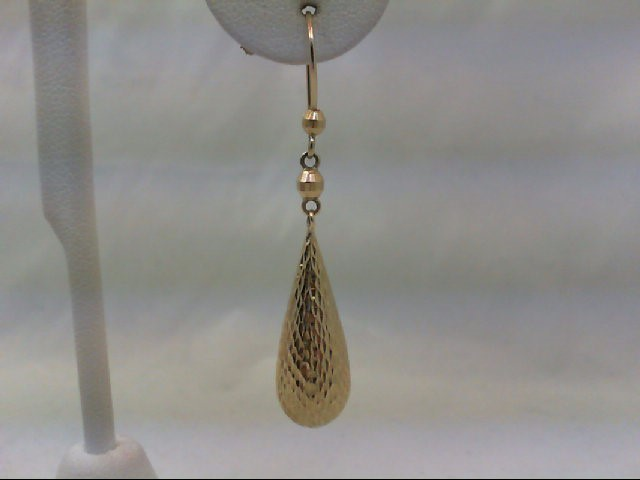 Gold Earrings 10K Yellow Gold 2.6g