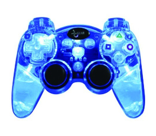 DGPS3-1307; LAVA GLOW WIRELESS PS3 CONTROLLER