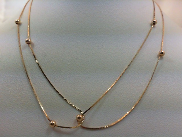 "24"" Gold Chain 14K Yellow Gold 1.9g"