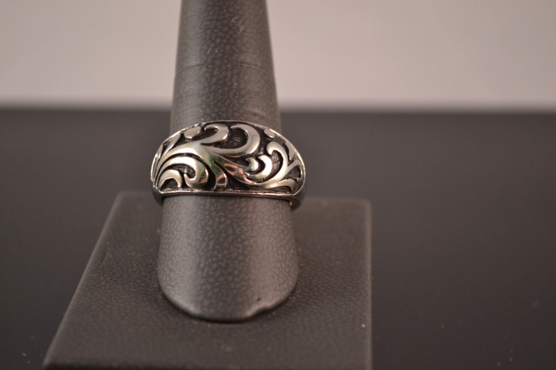 Gent's Ring Silver Stainless 10.5g