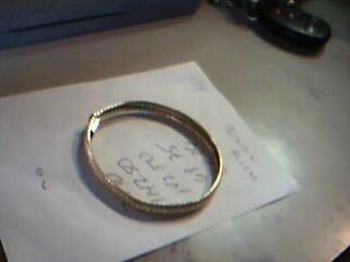 Gold Fashion Bracelet 14K Yellow Gold 14.6g