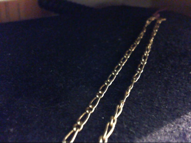 """20"""" Gold Link Chain 14K Yellow Gold 4.2g"""
