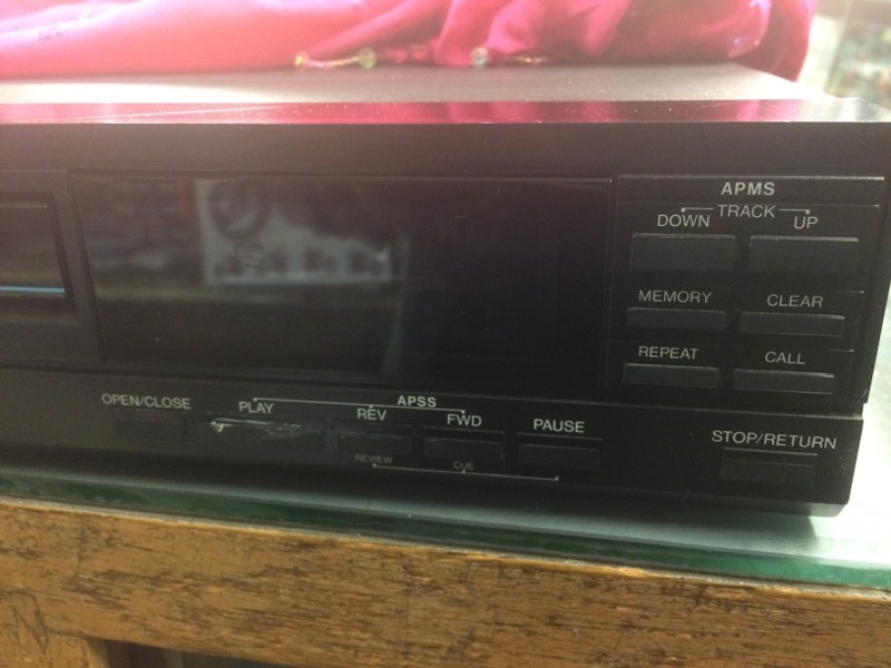 SHARP SELECT CD Player & Recorder DX-100