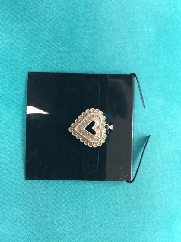 Gold-Multi-Diamond Pendant 20 Diamonds .20 Carat T.W. 10K White Gold 1.8dwt