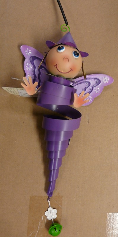 REGAL ART & GIFT 10537 HANGING JIGGLY FAIRY ORNAMENT