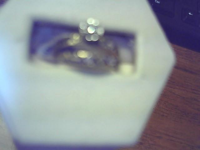 Lady's Diamond Wedding Set .10 CT. 10K Yellow Gold 1.9g