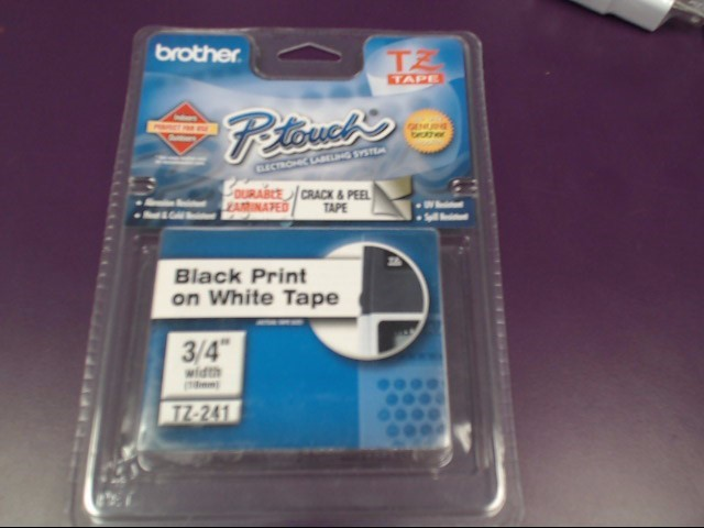 BROTHER P-TOUCH LABEL REFILL 3/4""