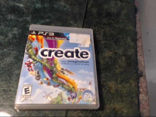 SONY Sony PlayStation 3 Game CREATE
