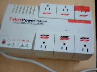 CYBERPOWER Computer Accessories CPS1000AVR