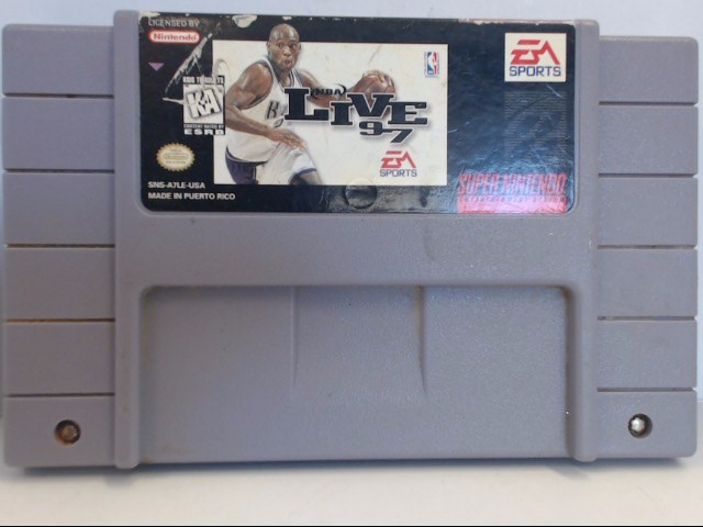 NINTENDO SNES NBA LIVE 97 *CARTRIDGE ONLY*