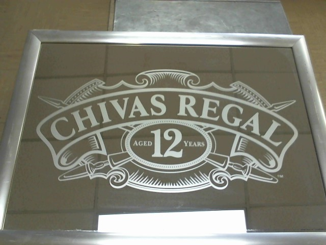 CHIVAS REGAL Sign MIRROR