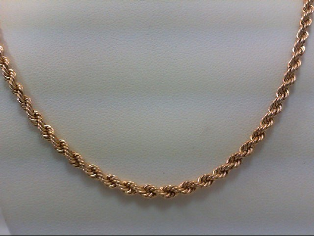 "18"" Gold Chain 10K Yellow Gold 4.5g"