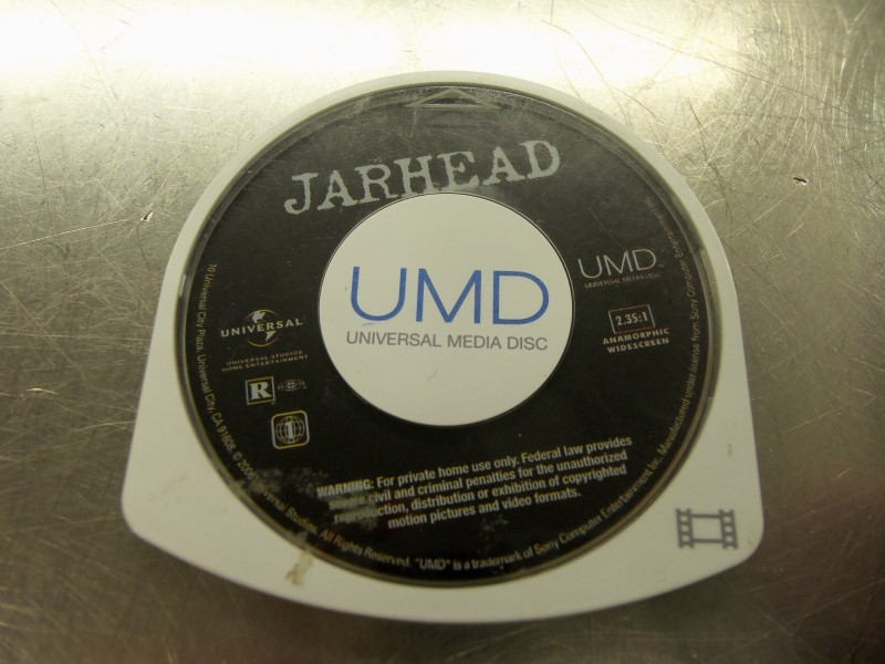 SONY UMD JARHEAD UMD VIDEO DISC ONLY