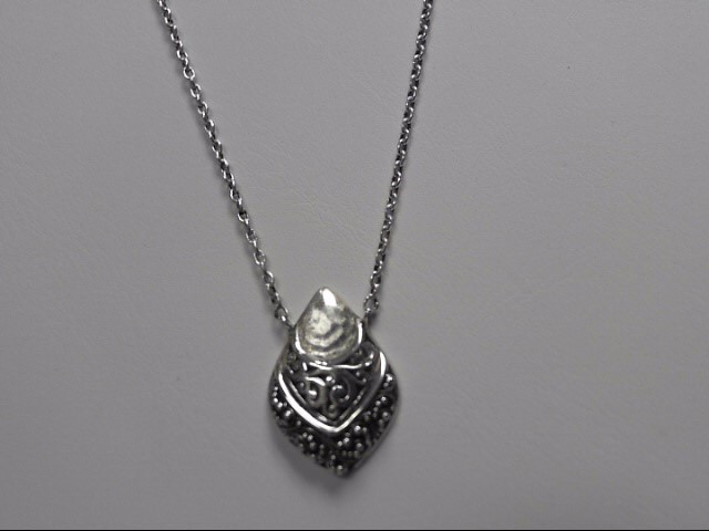 Lois Hill Sterling Silver .925 Pendant with Chain 10.1g