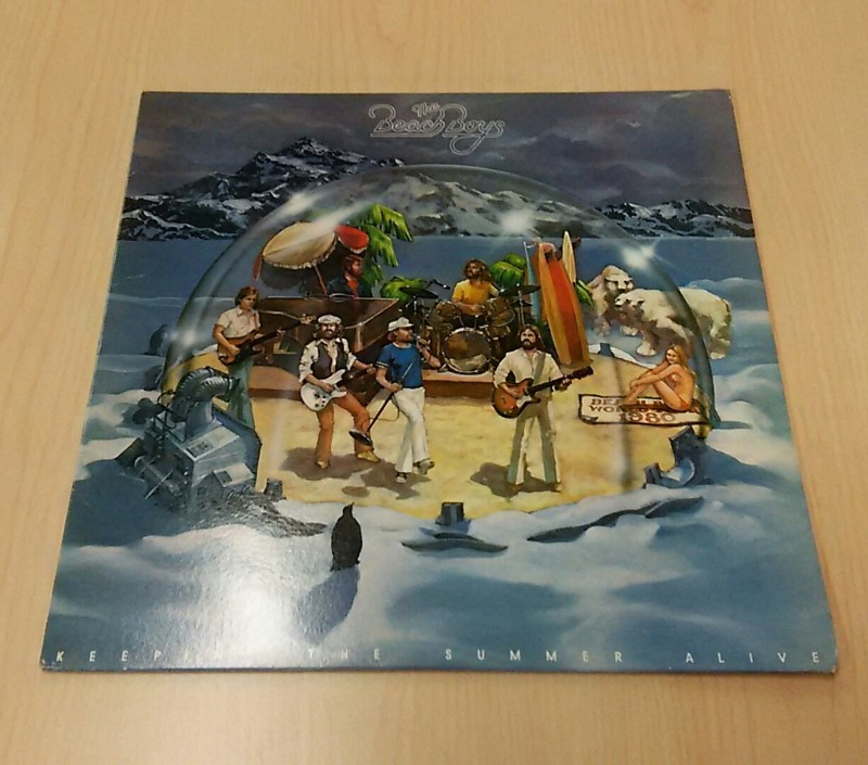 The Beach Boys Keepin' The Summer Alive Vinyl Record