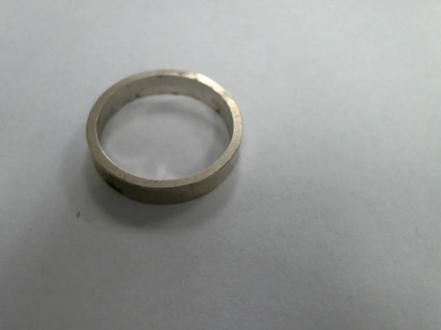 Lady's Gold Wedding Band 14K White Gold 2.5dwt
