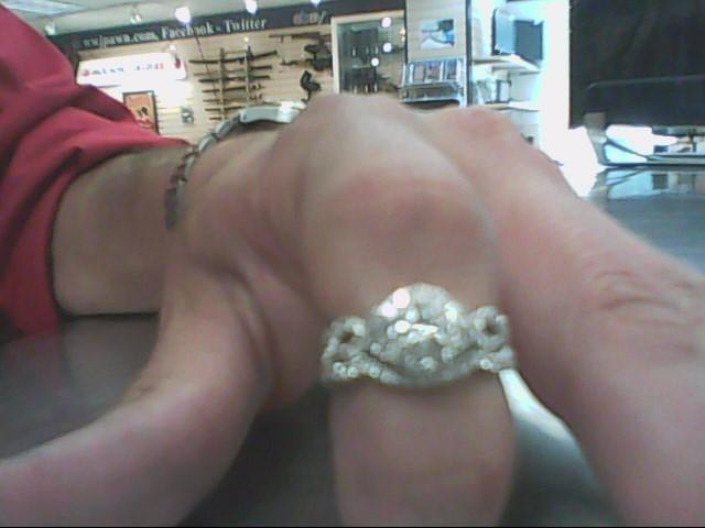 Lady's Diamond Wedding Set 105 Diamonds 1.49 Carat T.W. 14K White Gold 6.2g