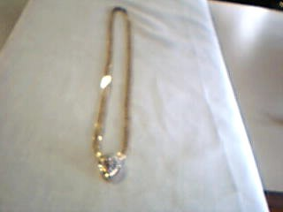 "20"" Diamond Necklace 8 Diamonds 0.8 Carat T.W. 14K Yellow Gold 10.22g"