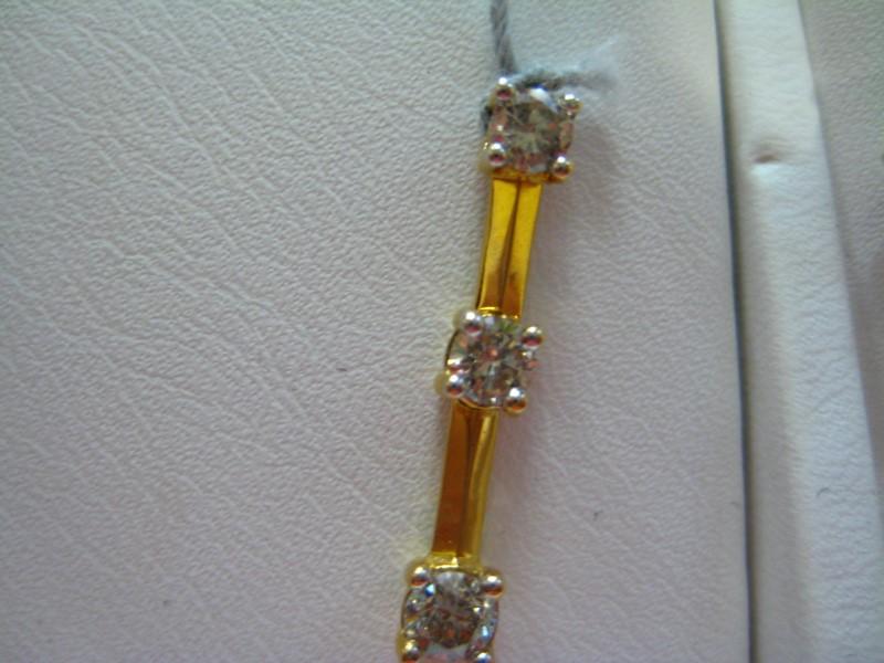 Gold Pendant 14K Yellow Gold 1g
