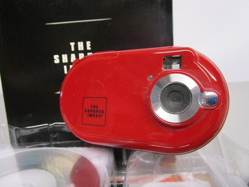THE SHARPER IMAGE DIGITAL CAMERA, BRAND NEW IN BOX