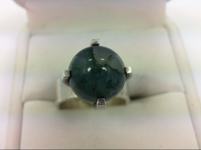 Lady's Silver Ring 925 Silver 6.8g Size:6
