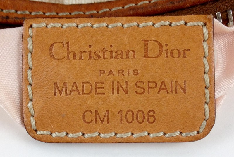 CHRISTIAN DIOR MINI LEATHER HANDBAG