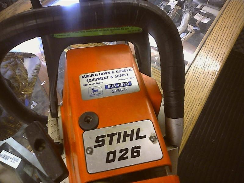 STIHL Chainsaw 026 CHAINSAW