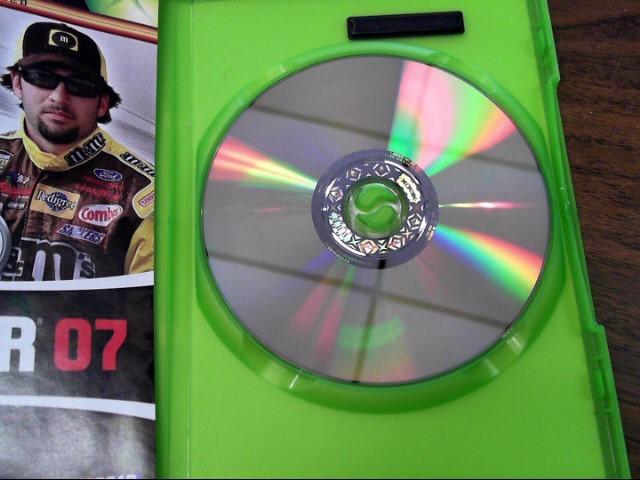 XBOX 360 GAME  NASCAR 07