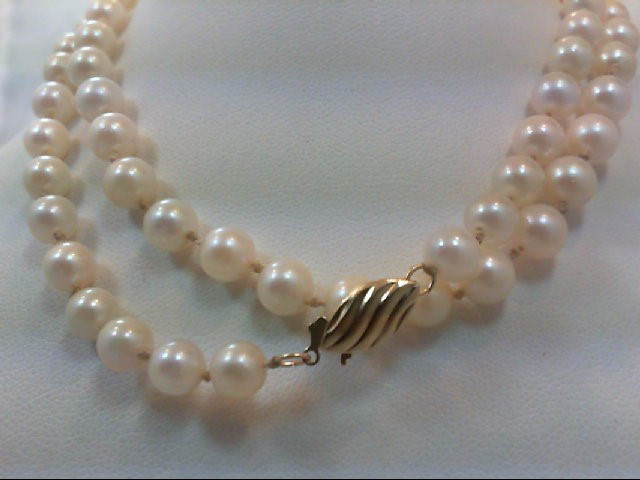 "20"" Pearl Stone Necklace 20g"