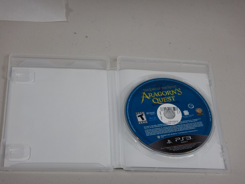 SONY Sony PlayStation 3 ARAGORN'S QUEST