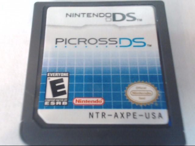 NINTENDO Nintendo DS Game PICROSS - DS