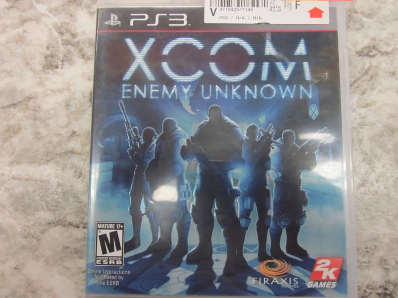 SONY PS3 XCOM ENEMY UNKNOWN
