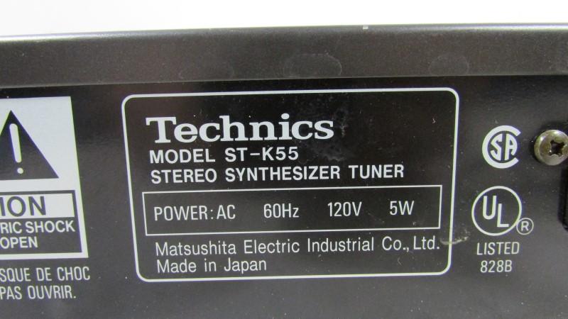 TECHNICS Tuner ST-K55