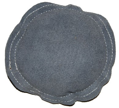 "SONA ENTERPRISES JT-SB57 8"" ROUND LEATHER BENCH BLOCK SAND PAD"