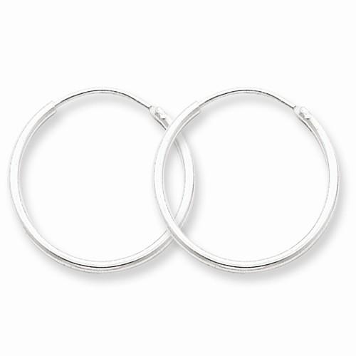Silver Earrings 925 Silver 0.73g